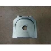 Пластина крепления полурессоры D24x120x125x5 (аналог BPW) (Кат. номер: 0316435030)