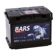 Аккумулятор  60а/ч  -=BARS Silver=- обр. пол. (- +) (Кат. номер: АКБ60)