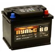 Аккумулятор  60а/ч  -=Пульс=- (пр.пол) (+ -)