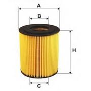 Фильтр масляный MAN F2000/FE/TGA HU1381X -=MANN FILTER=- (Кат. номер: HU1381X)