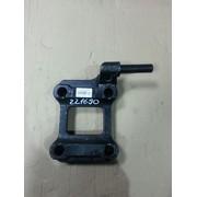Опорная пластина рессоры левая с креплением под амортизатор (аналог BPW) (Кат. номер: 0503221690/401096)