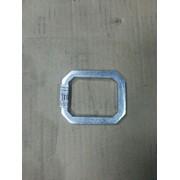 Пластина кронштейна рессоры (приварная) (72,5х60х8) (аналог BPW) (Кат. номер: 0329546210)