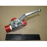 Кран гидравлический шаровый РВД S32*S32*S32 (M27*1.5)  3-х ходовый (Кат. номер: 100.018)